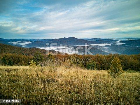 istock Autumn in the mountains 1280956369