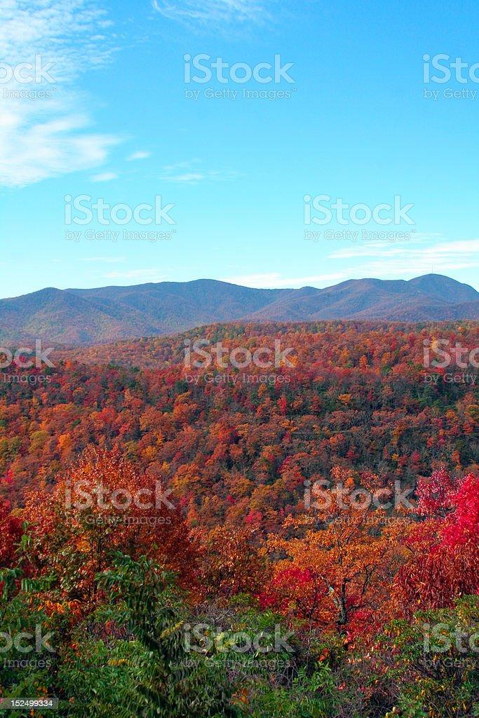 autumn in the mountains royalty-free stock photo