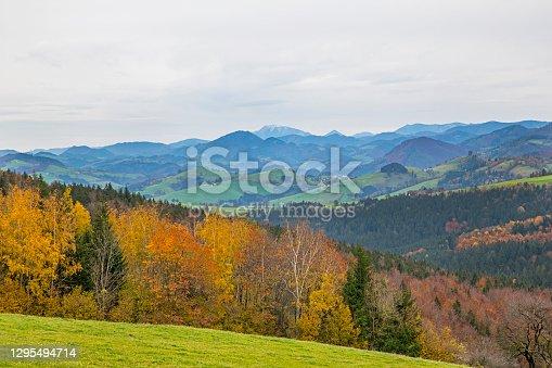 istock Autumn in the Prealps, Austria 1295494714