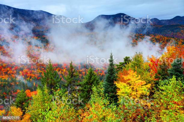 Photo of Autumn in the White Mountains National Forest New Hampshire