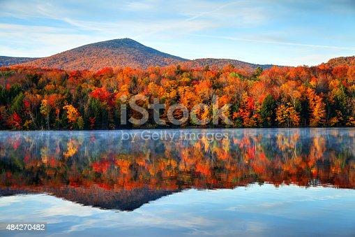 istock Autumn in Vermont 484270482
