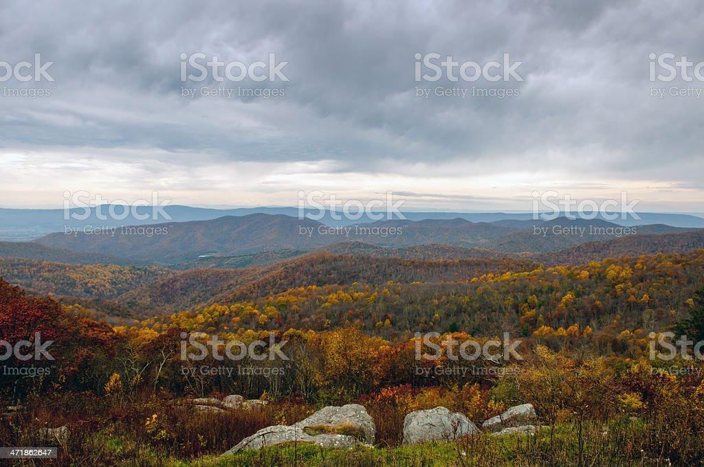 Autumn in Virginia royalty-free stock photo