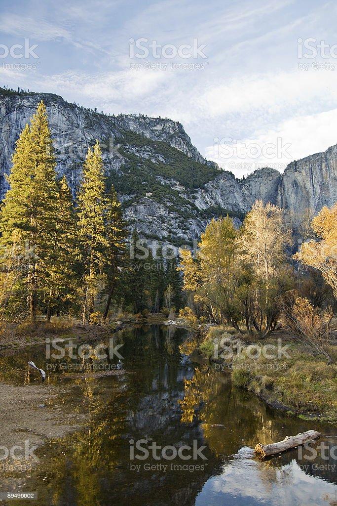 Jesień w Yosemite zbiór zdjęć royalty-free