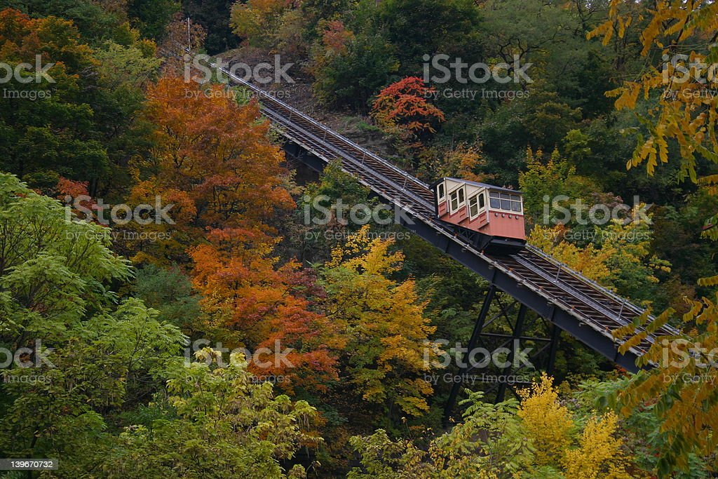 Autumn Incline stock photo