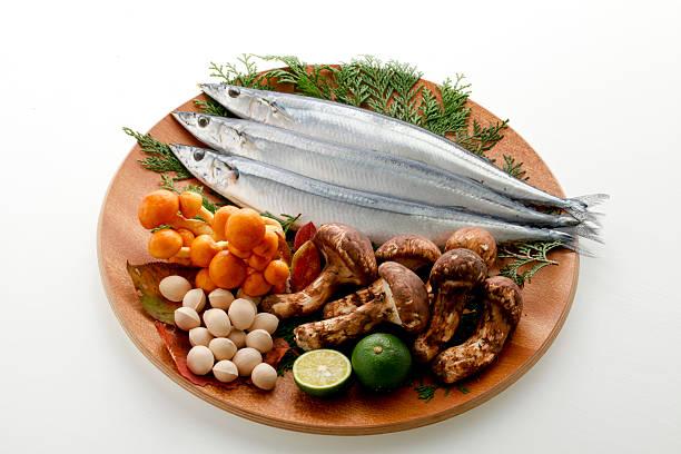 秋の食材 - 松茸 ストックフォトと画像