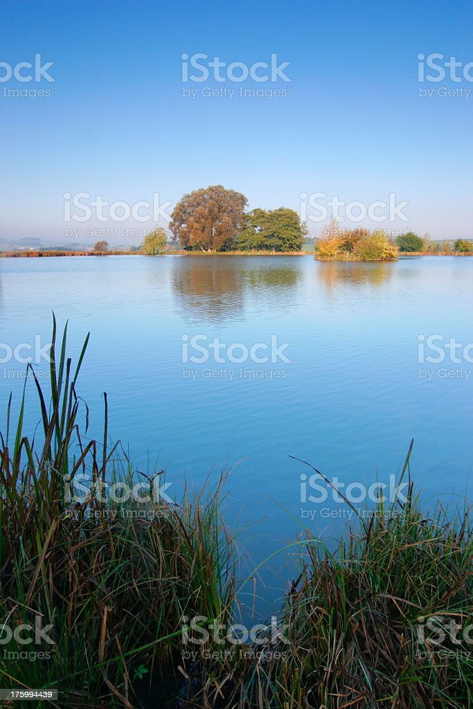Autumn Lake II royalty-free stock photo