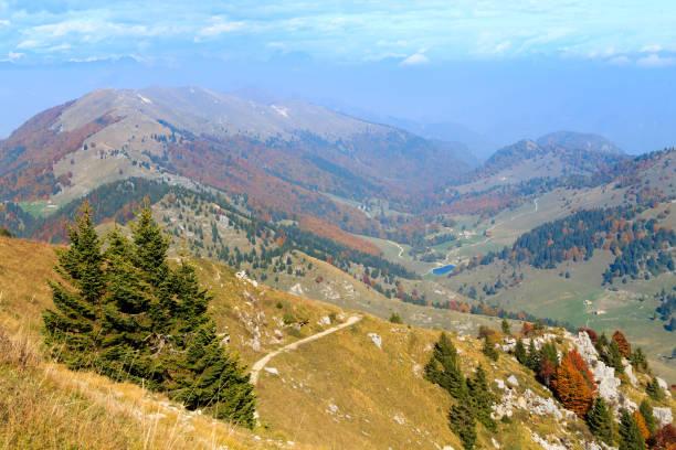 Autumn landscape, Italian Alps - foto stock