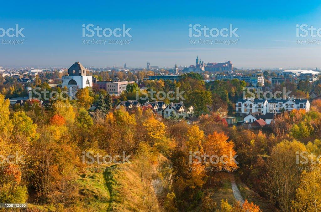 Herbst, Krakau, Polen, Zakrzowek Landschaftspark – Foto