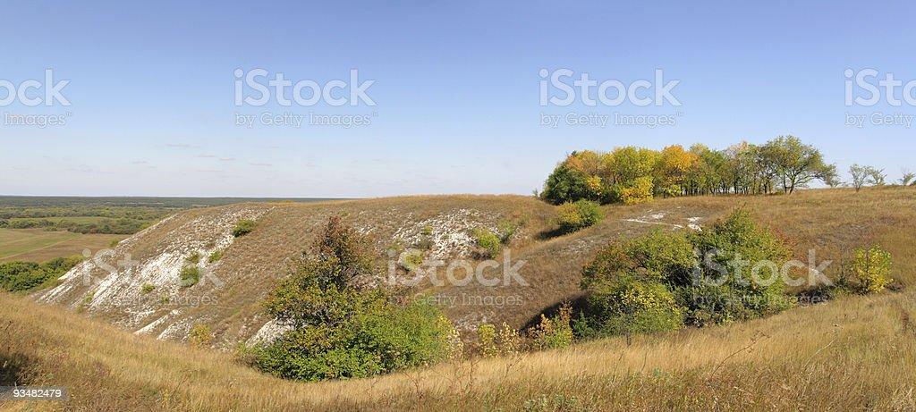 가을 풍경 (파노라마 - 로열티 프리 0명 스톡 사진
