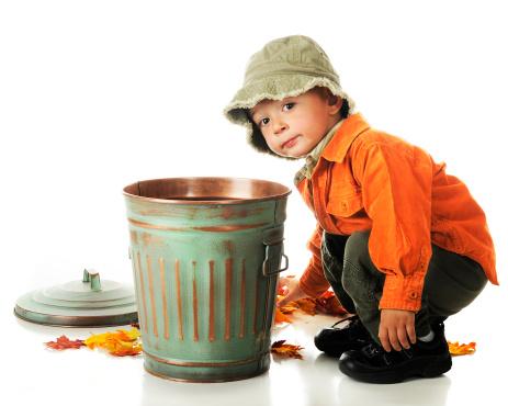 Autumn Leafpickerupper Stock Photo Download Image Now Istock