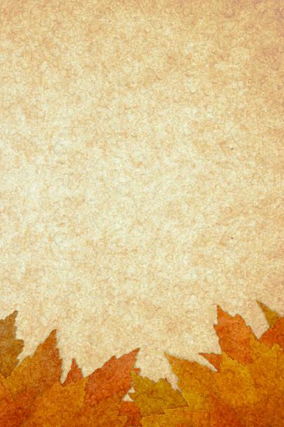 autumn leaves background - meerdere lagen effect stockfoto's en -beelden
