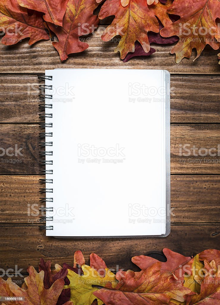 Autumn leaves background royalty-free stock photo