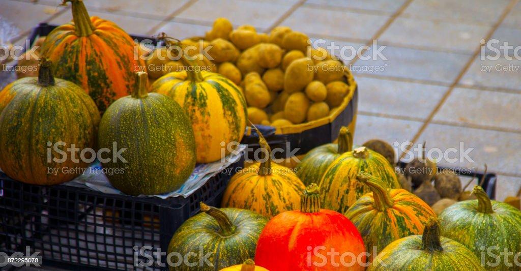 Autumn Market stock photo