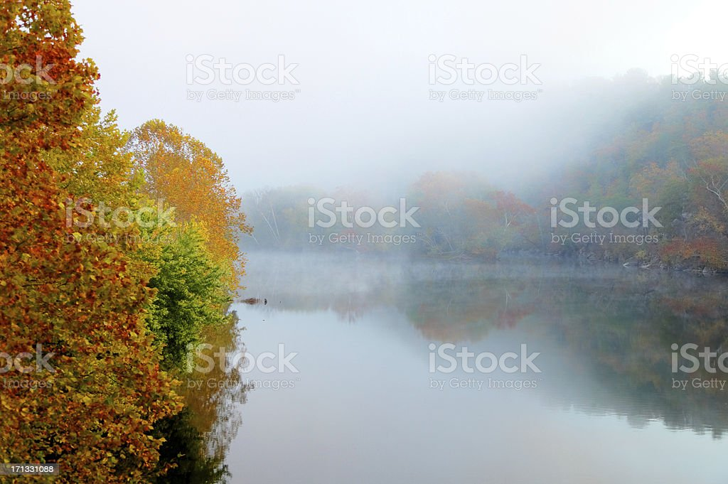 Autumn Mist royalty-free stock photo