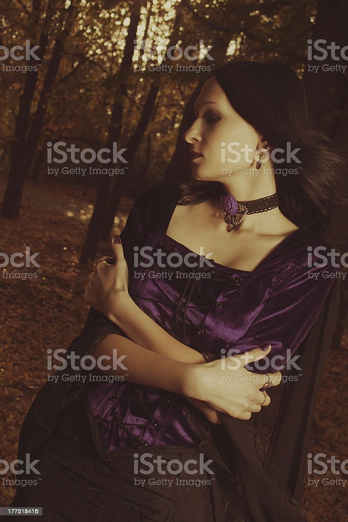 Autumn mood royalty-free stock photo
