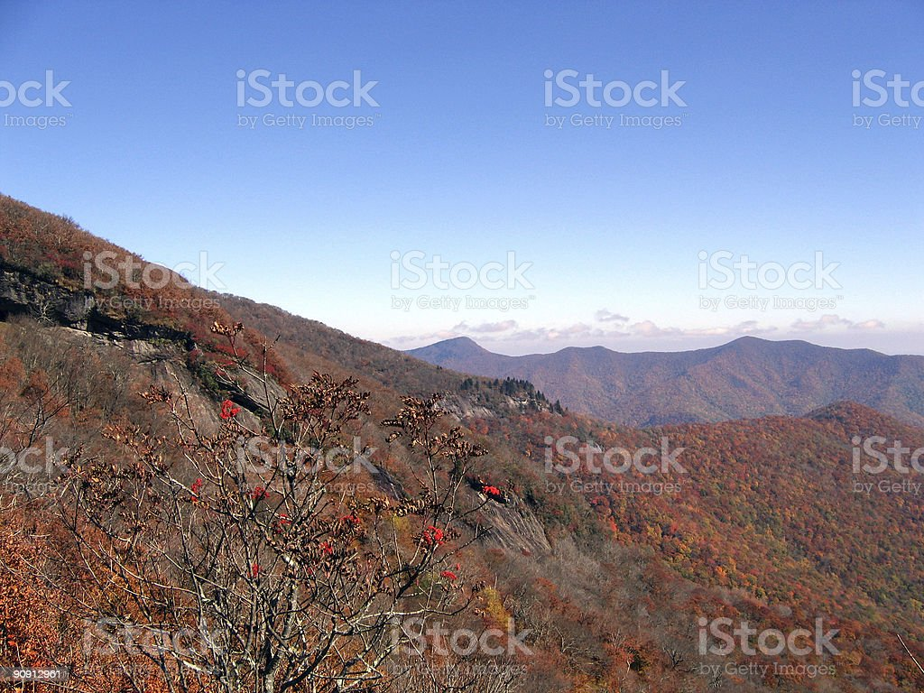 autumn mountains royalty-free stock photo