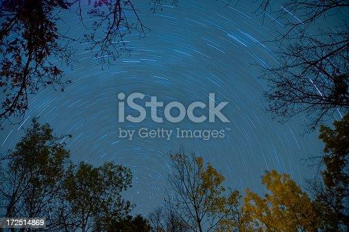 istock Autumn night sky 172514869