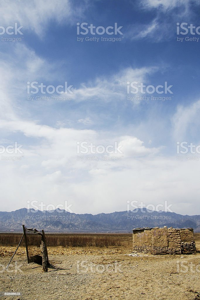 Autumn of Beijing countryside 2 royalty-free stock photo