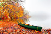 Beautiful autumn colors in the small village of Sandwich on the Cape Cod region of Massachusetts