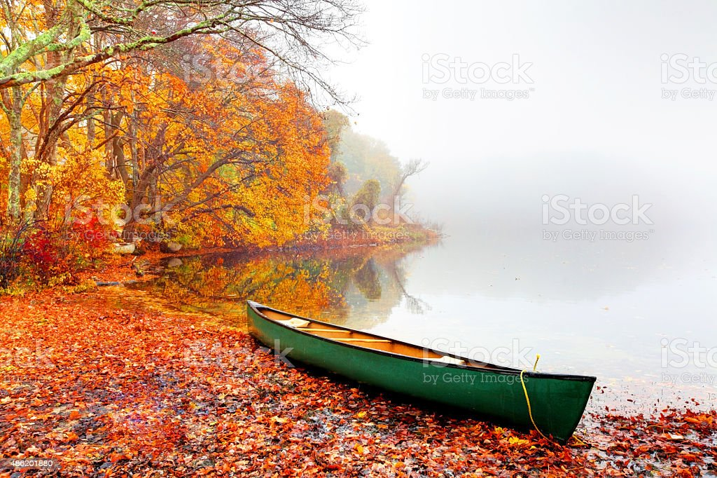 Autumn on Cape Cod stock photo