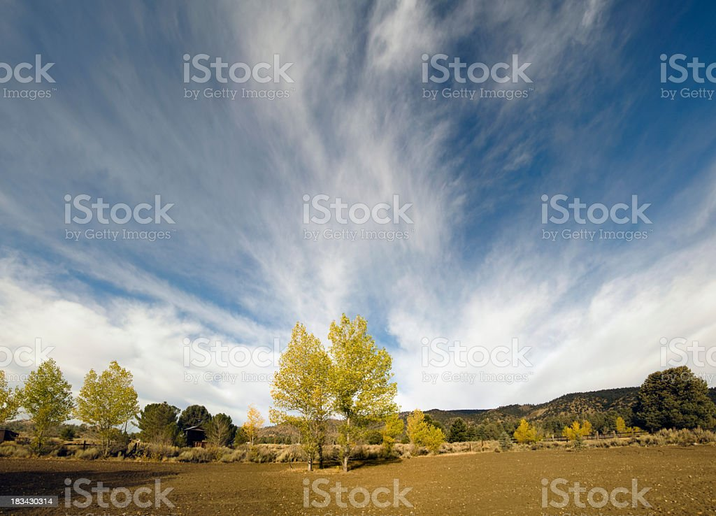 autumn on the farm royalty-free stock photo