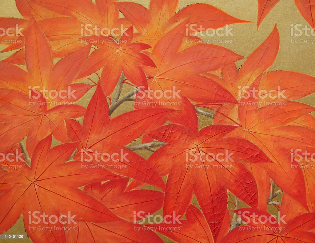 Autumn Orange royalty-free stock photo