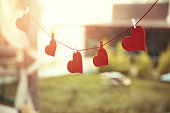 Adhesive Note, Paper, Text, Autumn, Heart Shape, valentines day, christmas