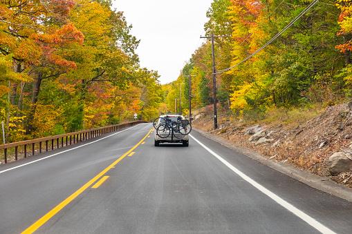 Autumn outdoor travel