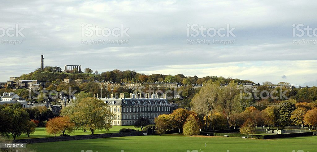Autumn Palace stock photo