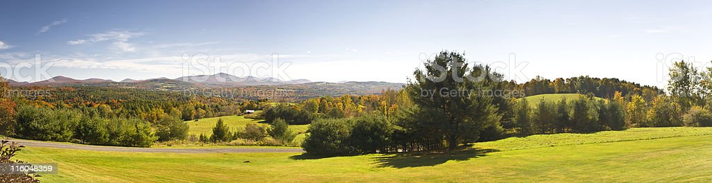 Autumn Panorama royalty-free stock photo