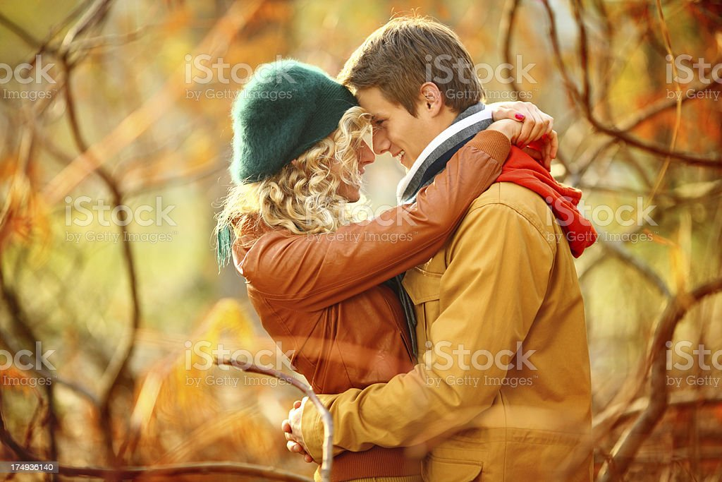 Autumn romance. royalty-free stock photo