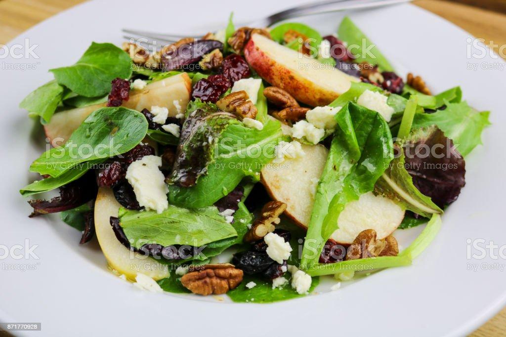 Autumn Salad stock photo