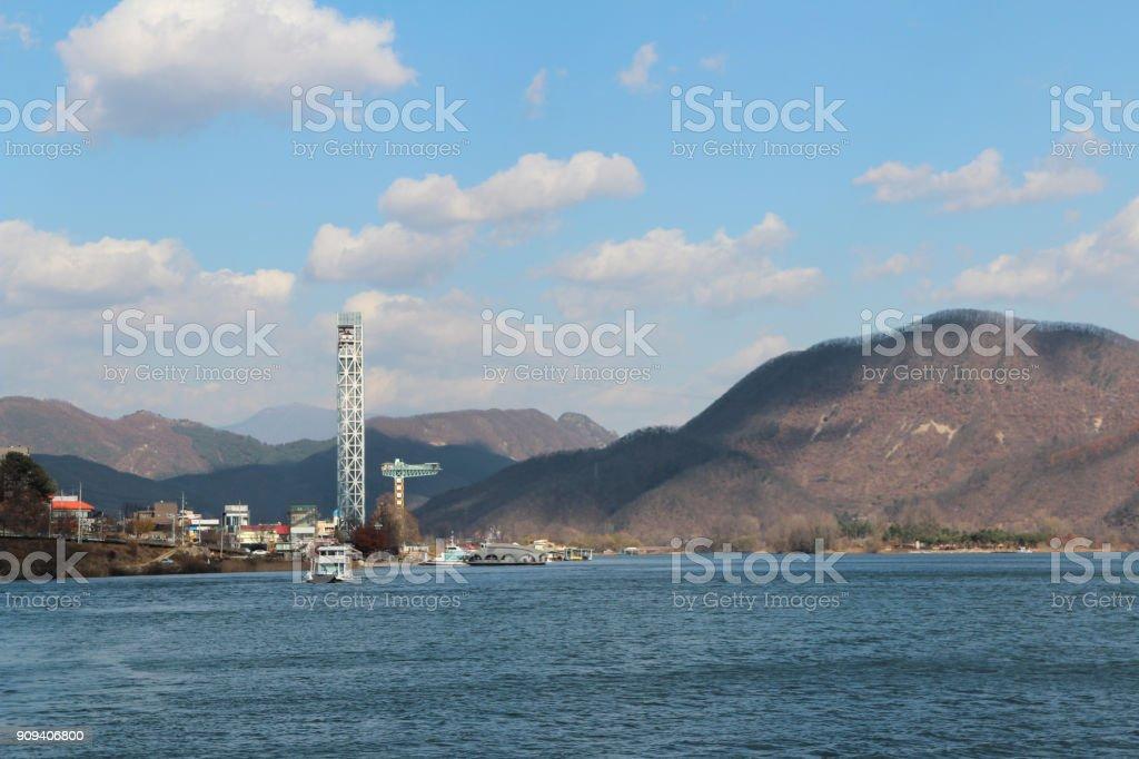 Autumn Scenery Of Nami Island South Korea stock photo | iStock