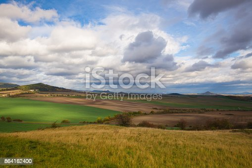 Autumn Scenery Stock Photo & More Pictures of Aerial View