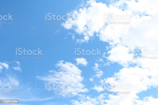Photo of Autumn sky background
