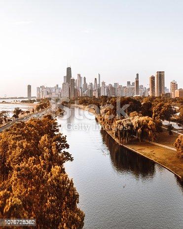 852738732istockphoto autumn skyline of chicago 1076728362