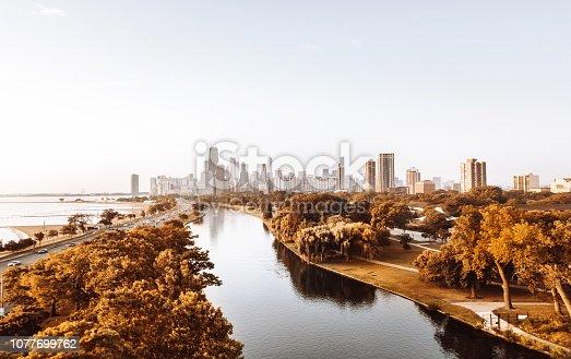 852738732istockphoto autumn skyline of chicago 1077699762