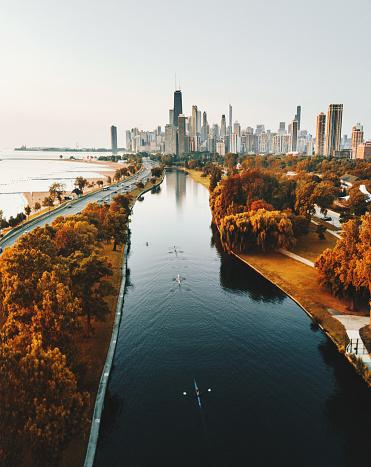 istock autumn skyline of chicago 852738732