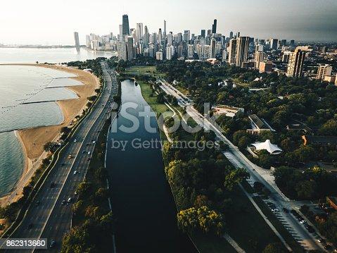 852738732istockphoto autumn skyline of chicago 862313660