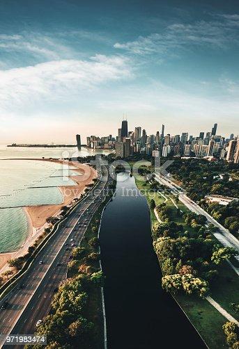 852738732istockphoto autumn skyline of chicago 971983474