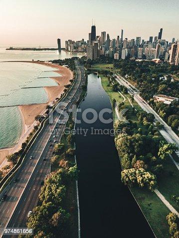 852738732istockphoto autumn skyline of chicago 974861656