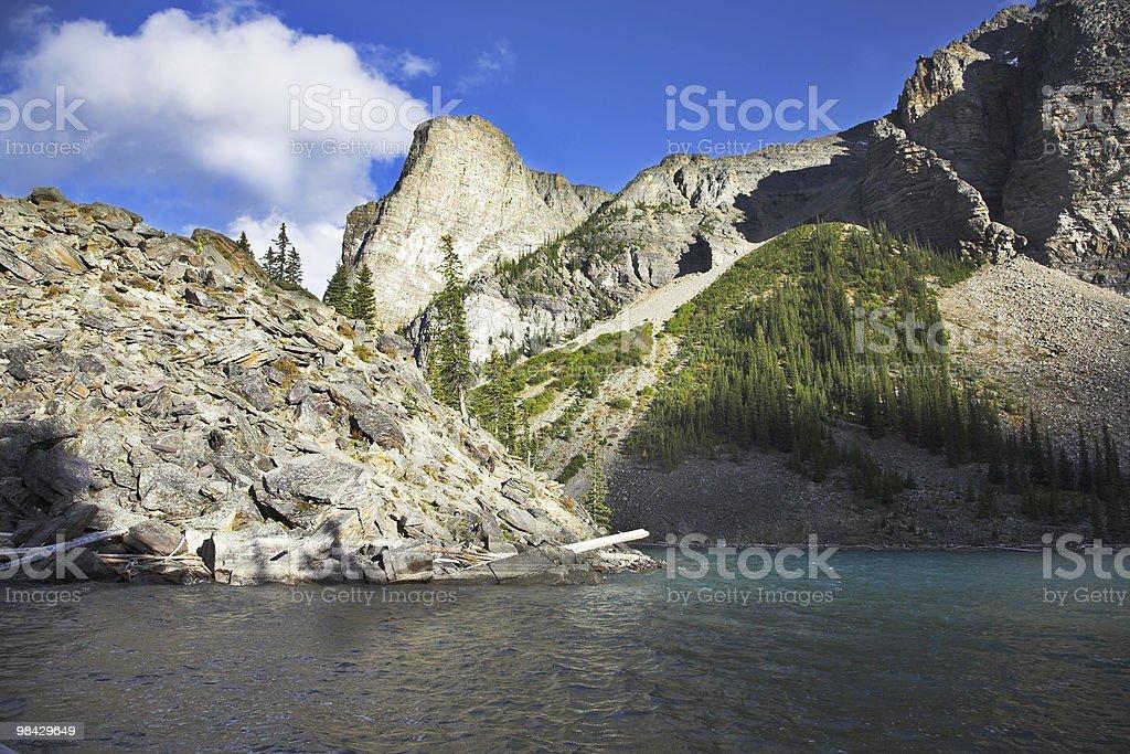 Autumn sun in mountains royalty-free stock photo