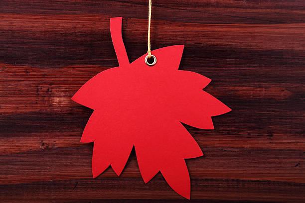 Autumn Tag stock photo
