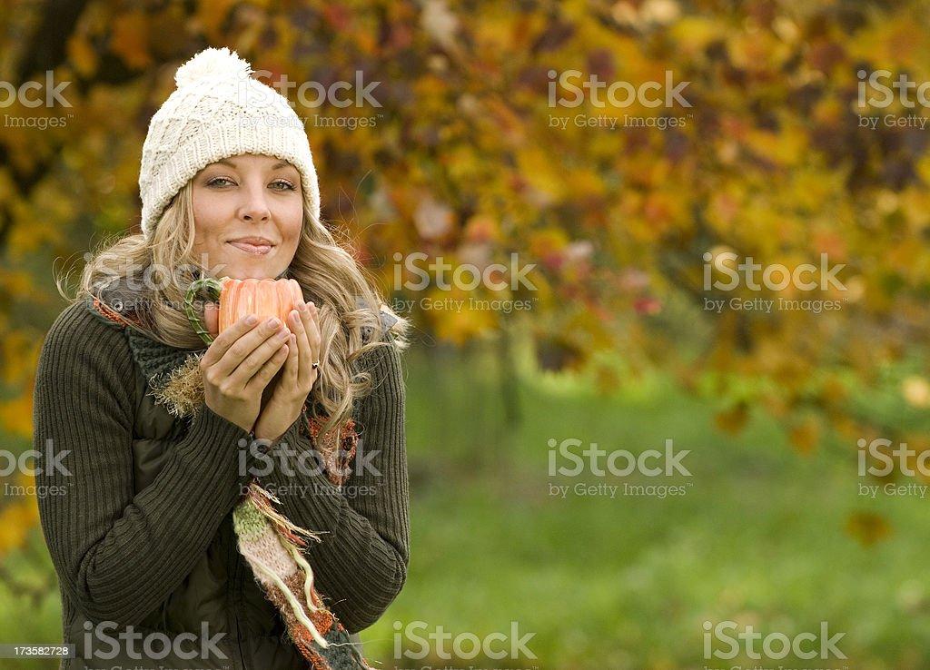 Autumn Tea Time royalty-free stock photo