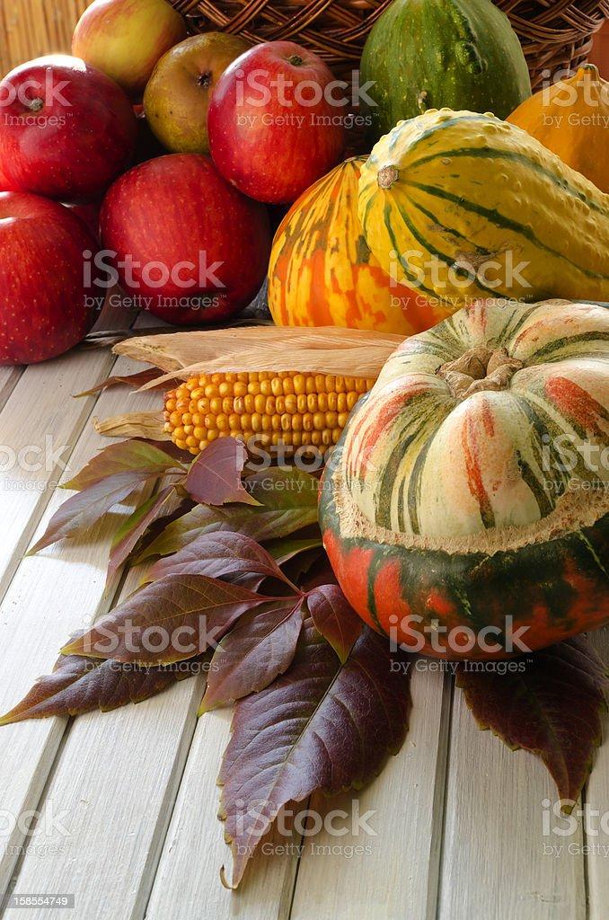 추절 채소 및 과일 royalty-free 스톡 사진