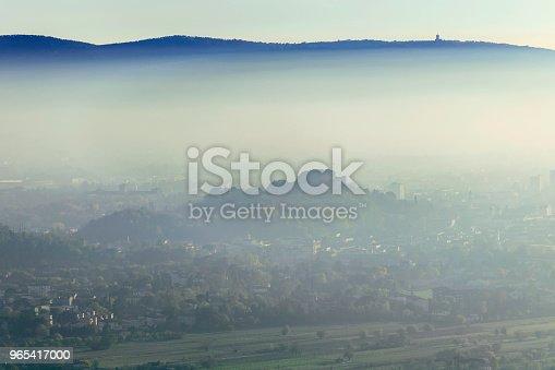 Autumn View Of The City Of Gorizia Italy Europe Stock Photo & More Pictures of Autumn