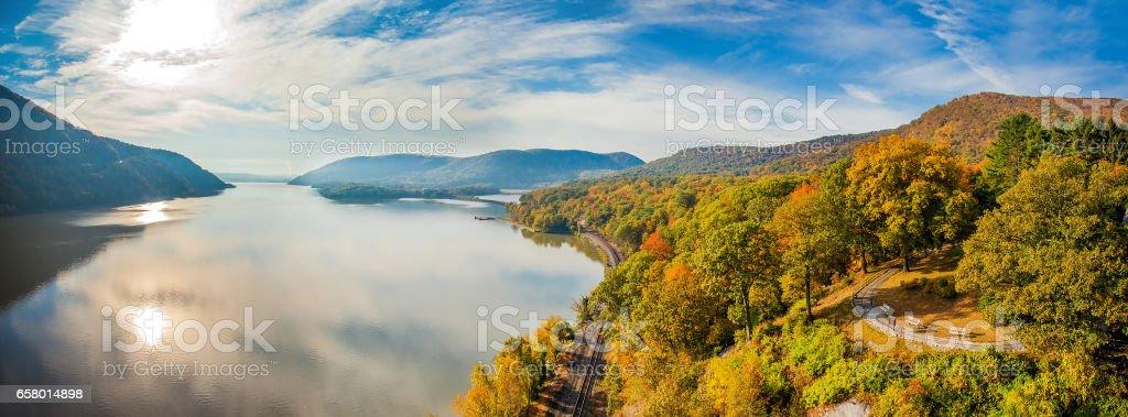 Autumn view stock photo