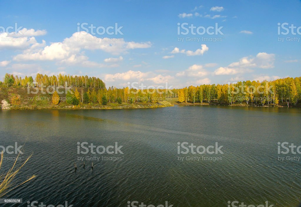 Autumn view royalty-free stock photo
