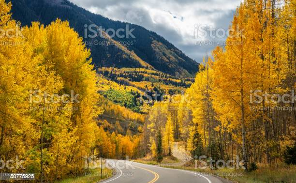 Photo of Autumn views between Telluride and Delores Highway 145