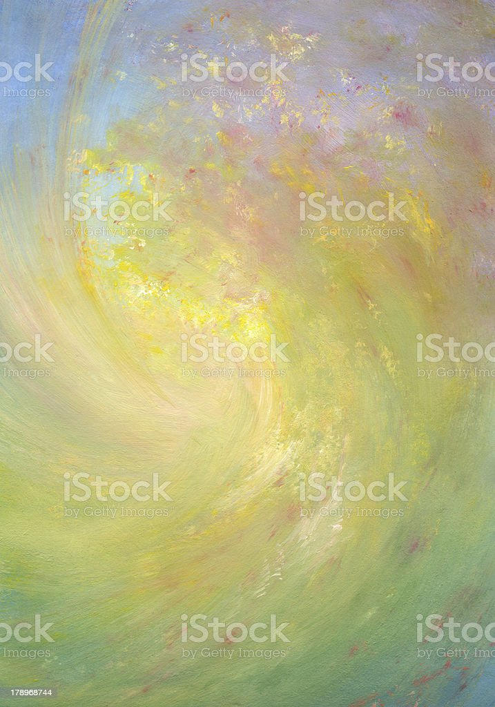 autumn wind - abstract painted background royalty-free stock photo